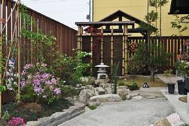 丈和庭 施工例 和風のお庭