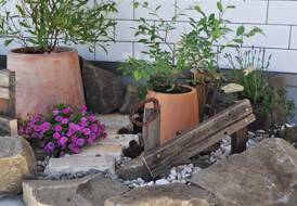 丈和庭 施工例 花壇・スモールガーデン
